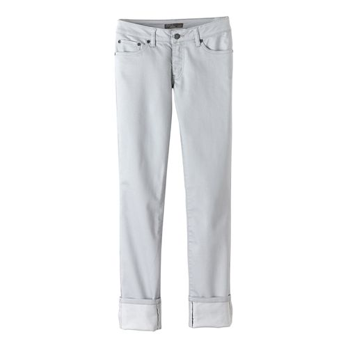 Womens prAna Kara Jean Pants - Silver 8