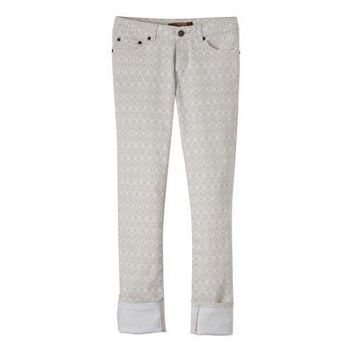 Womens Prana Kara Jean Full Length Pants - Stone Diamond OS