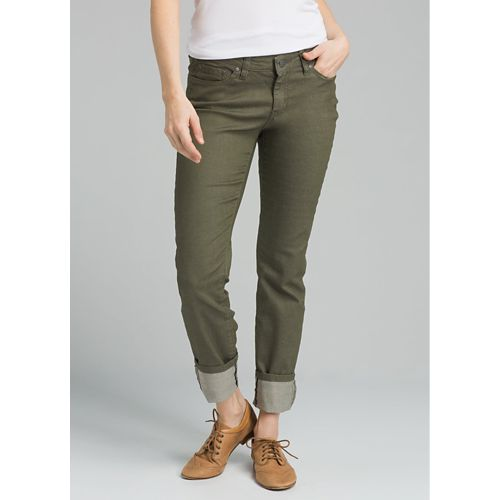 Womens prAna Kara Jean Pants - Cargo Green 2