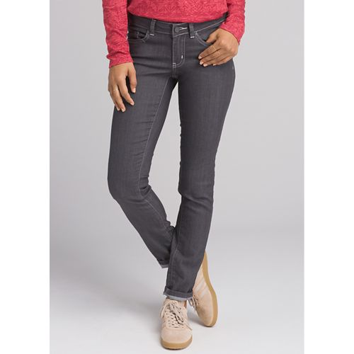 Womens Prana Kara Jean Full Length Pants - Denim 12