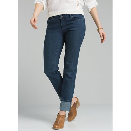 Womens Prana Kara Jean Full Length Pants - Indigo 10