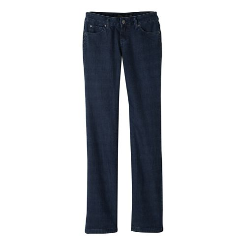 Womens Prana Jada Jean Full Length Pants - Indigo 14-R