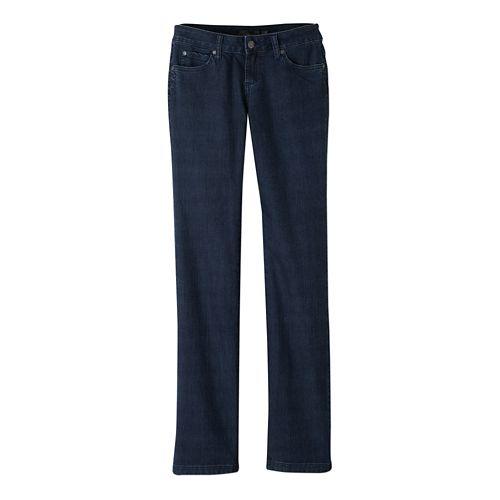 Womens Prana Jada Jean Full Length Pants - Indigo 6-S