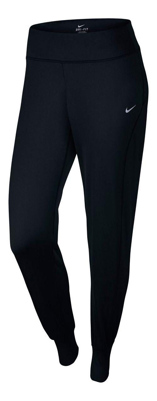 Womens Nike Thermal Pant Full Length Tights - Black M