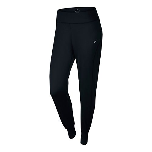 Womens Nike Thermal Pant Full Length Tights - Black L