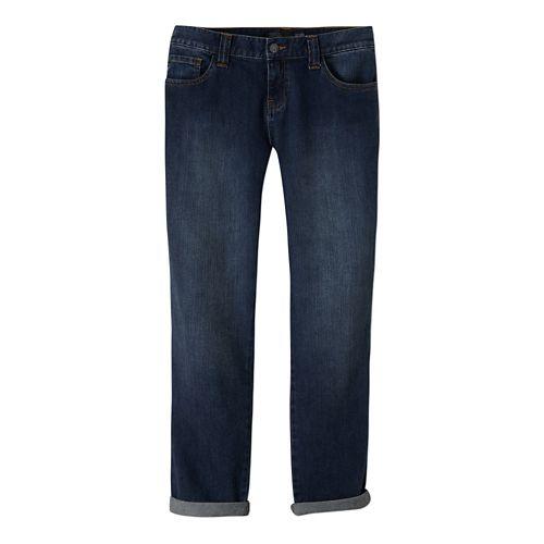 Womens Prana Honour Jean Full Length Pants - Denim 4