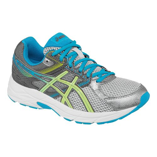 Womens ASICS GEL-Contend 3 Running Shoe - Silver/Teal 11.5