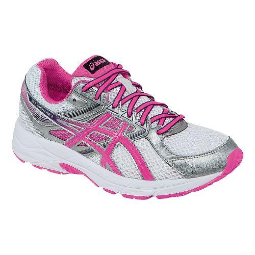 Womens ASICS GEL-Contend 3 Running Shoe - White/Pink 5