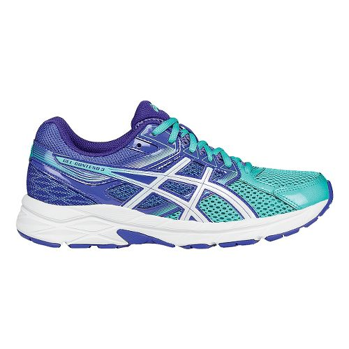 Womens ASICS GEL-Contend 3 Running Shoe - Turquoise/White 9.5