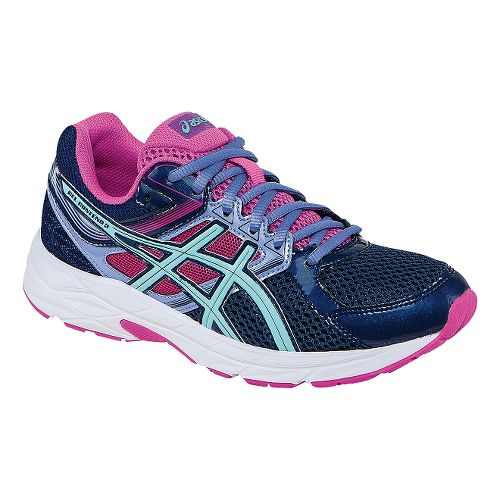 Womens ASICS GEL-Contend 3 Running Shoe - Indigo/Pink 9.5