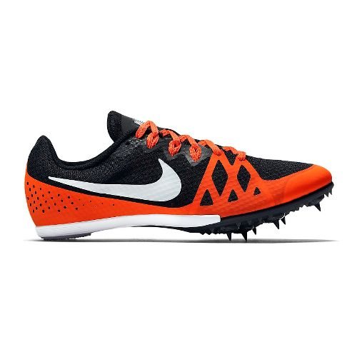 Womens Nike Zoom Rival M 8 Track and Field Shoe - Black/Crimson 8