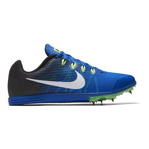 Mens Nike Zoom Rival D 9 Track and Field Shoe - Blue 7.5