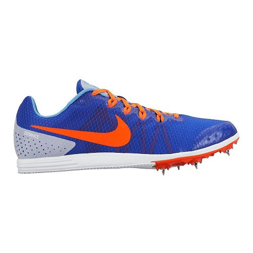 Mens Nike Zoom Rival D 9 Track and Field Shoe - Blue/Orange 7.5