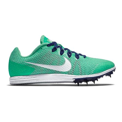 Womens Nike Zoom Rival D 9 Track and Field Shoe - Green 10