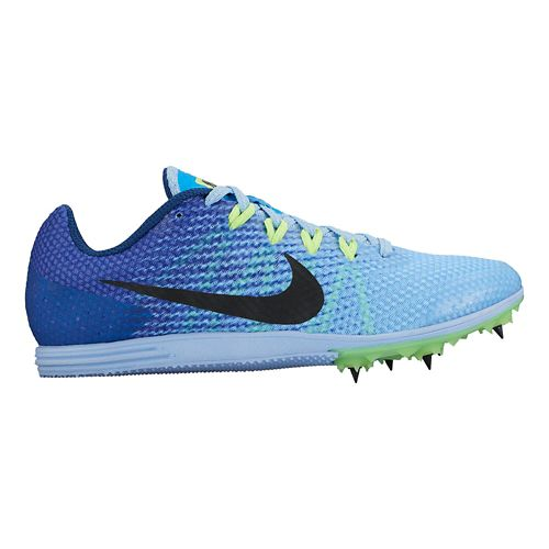 Womens Nike Zoom Rival D 9 Track and Field Shoe - Blue 10.5