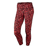 Womens Nike Lotus Epic Run Crop Capri Tights
