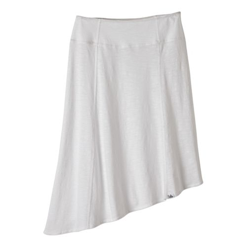 Womens Prana Jacinta Fitness Skirts - White M