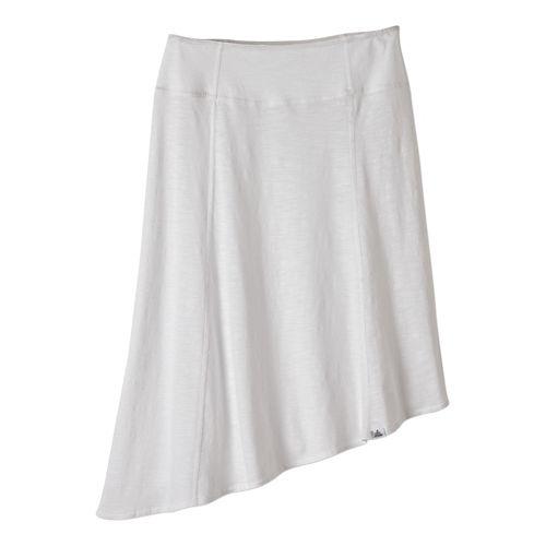 Womens Prana Jacinta Fitness Skirts - White XL