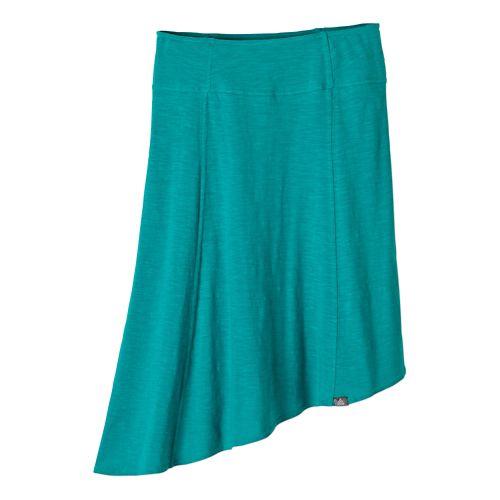Womens Prana Jacinta Fitness Skirts - Dynasty Green S