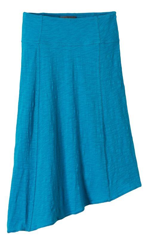 Womens Prana Jacinta Fitness Skirts - Cove L