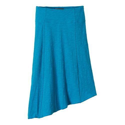 Womens Prana Jacinta Fitness Skirts - Cove XL