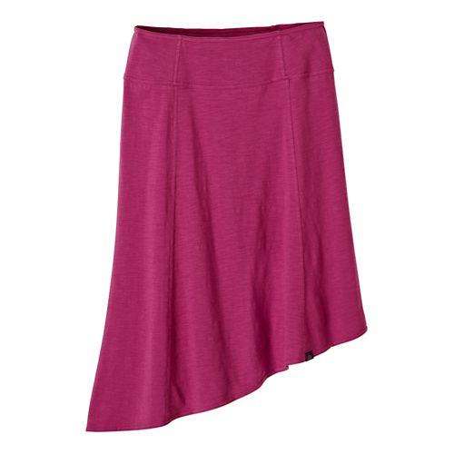 Womens Prana Jacinta Fitness Skirts - Vivid Viola XL