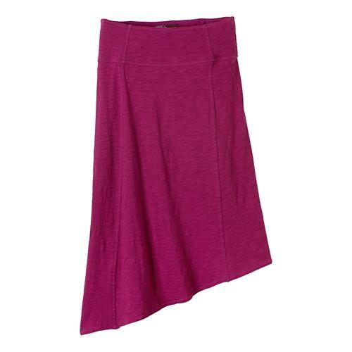 Womens Prana Jacinta Fitness Skirts - Rich Fuchsia M