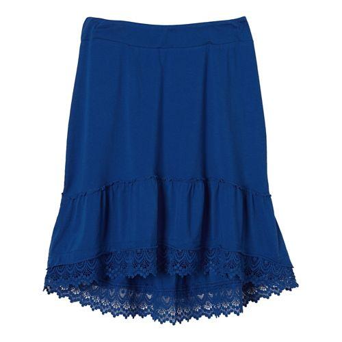 Womens Prana Laine Fitness Skirts - Blue Jay M