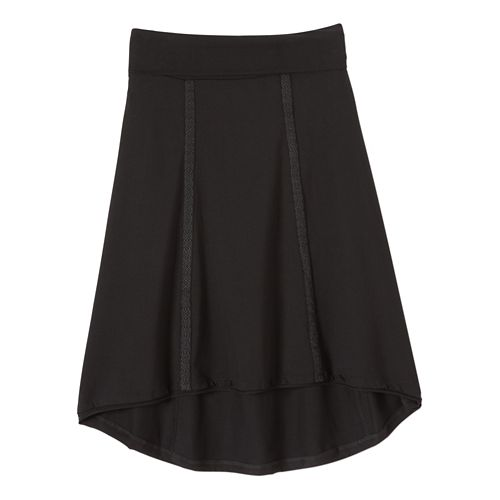 Womens Prana Tia Fitness Skirts - Black M