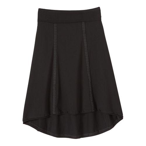 Womens Prana Tia Fitness Skirts - Black XL