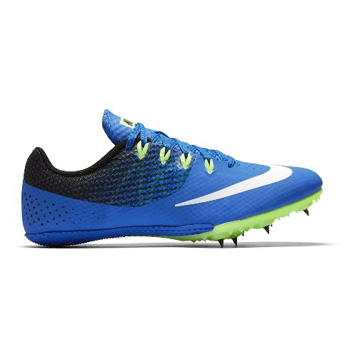 Mens Nike Zoom Rival S 8 Track and Field Shoe - Blue 8