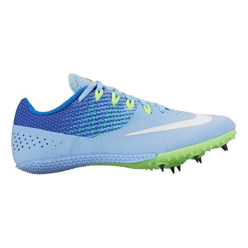 Womens Nike Zoom Rival S 8 Track and Field Shoe - Blue 10.5
