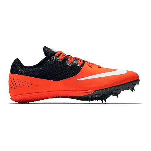 Womens Nike Zoom Rival S 8 Track and Field Shoe - Crimson/Black 7