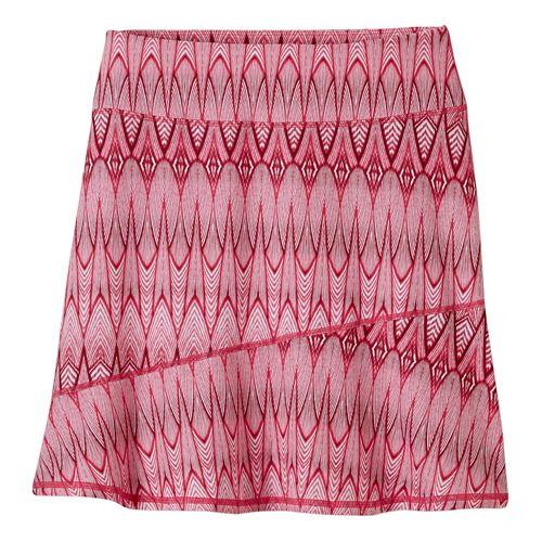 Womens Prana Deedra Fitness Skirts - Azalea Feather XL