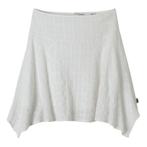 Womens Prana Rhia Fitness Skirts - White 12