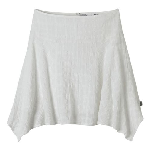 Womens Prana Rhia Fitness Skirts - White 6