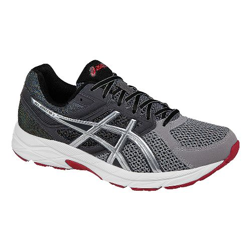 Mens ASICS GEL-Contend 3 Running Shoe - Grey/Silver 14