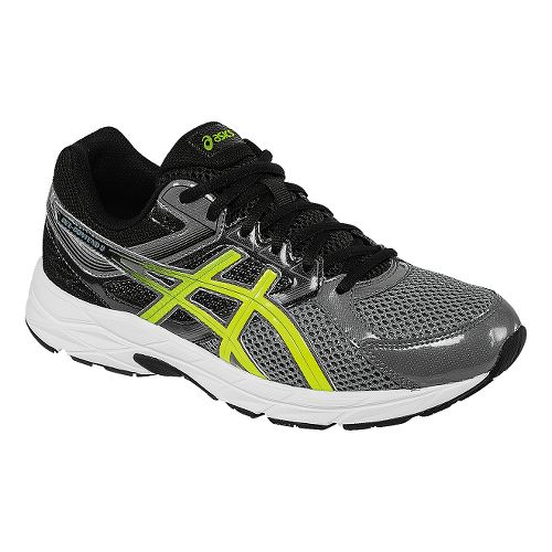 Mens ASICS GEL-Contend 3 Running Shoe - Carbon/Flash Yellow 13