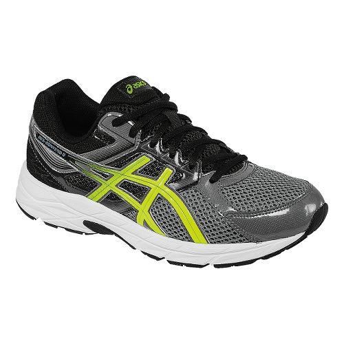 Mens ASICS GEL-Contend 3 Running Shoe - Carbon/Flash Yellow 7.5