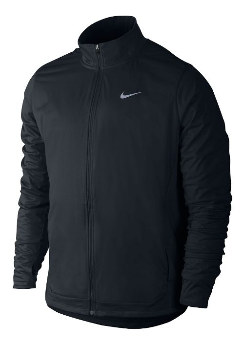 Mens Nike Shield FZ Outerwear Jackets - Black M