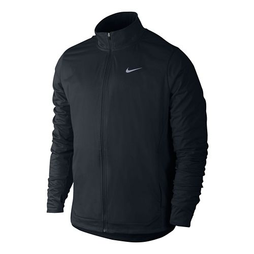 Mens Nike Shield FZ Outerwear Jackets - Black L