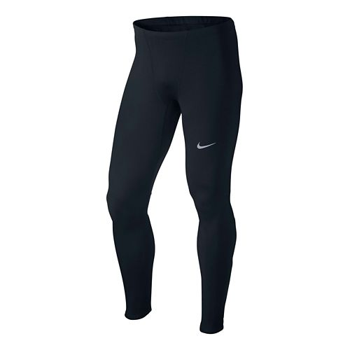 Mens Nike Dri-Fit Thermal Full Length Tights - Black S