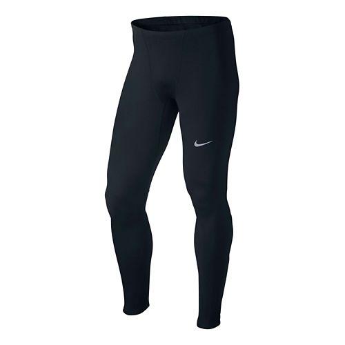 Mens Nike Dri-Fit Thermal Full Length Tights - Black XL