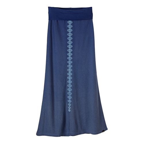 Womens Prana Benita Fitness Skirts - Blue Jay XS