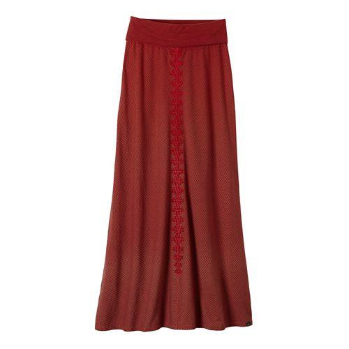 Womens Prana Benita Fitness Skirts - Cherry Pop M