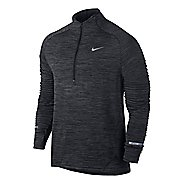 Mens Nike Element Sphere Long Sleeve 1/2 Zip Technical Tops
