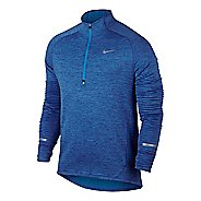 Mens Nike Element Sphere Long Sleeve 1/2 Zip & Hoodies Technical Tops