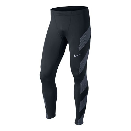Mens Nike Dri-Fit Flash Tights - Black L