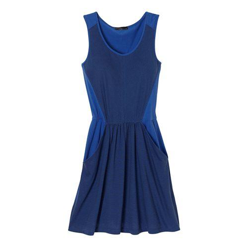 Womens Prana Maisy Dress Fitness Skirts - Blue Jay M