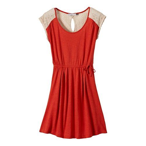 Womens Prana Angelina Dress Fitness Skirts - Fireball XS